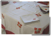 Collection nappe de table Caramiel